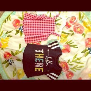 NWT 0-3 month top lot carters